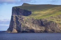 海岛富拉岛 富拉岛在Scot舍德兰群岛群岛位于了 免版税库存图片