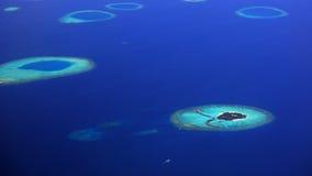 海岛小的马尔代夫 免版税库存照片