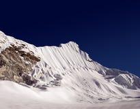 海岛尼泊尔峰顶 免版税库存照片