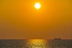 海岛憔悴 库存照片