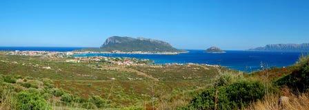 海岛撒丁岛 库存照片