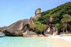 海岛普吉岛similan泰国 库存图片