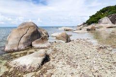 海岛泰国酸值的samui 库存图片