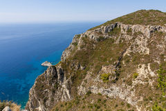 海岛海岸线 库存图片