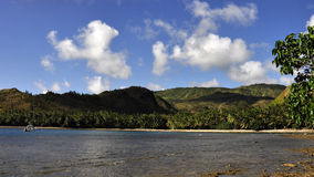 海岛海湾 免版税库存照片