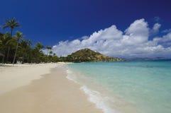 海岛海滩 库存照片