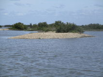 海岛海滩 库存图片