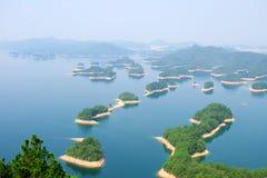 海岛湖一千 库存照片