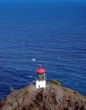 海岛灯塔 库存图片