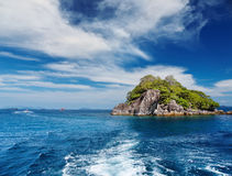 海岛热带的泰国 免版税库存图片