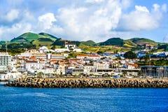 海岛生活在亚速尔群岛 免版税库存照片