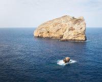 海岛福拉达达,撒丁岛,意大利 库存图片