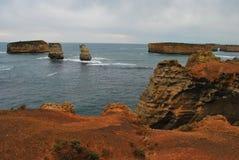 海岛红海 库存图片