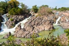 海岛老挝千位 库存图片