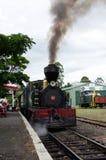 海岛葡萄酒铁路Kawakawa NZ海湾  免版税库存图片