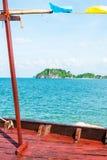 海岛视图 库存图片