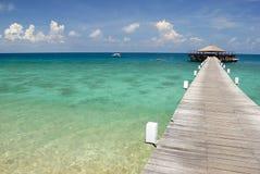 海岛跳船tioman的马来西亚 库存图片