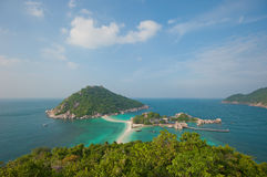 海岛酸值nang陶・泰国元 免版税图库摄影