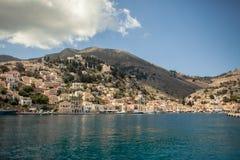 海岛锡米岛 库存图片
