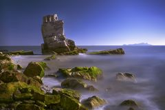 海岛风景 库存图片