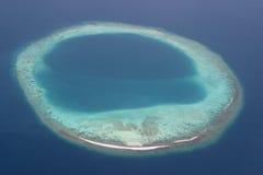 海岛马尔代夫 免版税库存照片