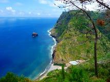 海岛马德拉岛 库存图片