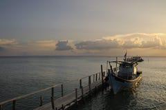 海岛马来西亚sibu 库存照片