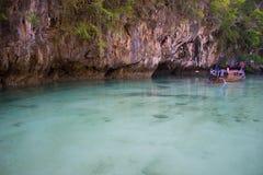 洪海岛 免版税库存照片