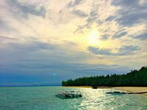 海岛 免版税库存图片