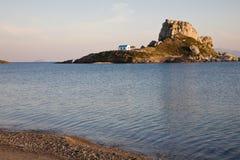 海岛kefalos kos 免版税库存照片