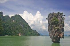 海岛ko tapu泰国 库存照片