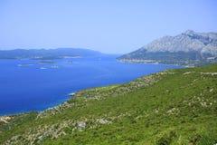 海岛Korcula -克罗地亚 免版税库存照片