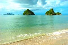 海岛krabi小的泰国 图库摄影