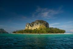 海岛krabi poda泰国 图库摄影
