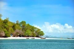 海岛krabi poda泰国 库存照片
