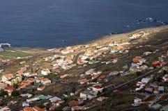 海岛La Plama的风景 库存照片