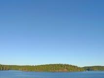 海岛ladoga湖valaam 免版税图库摄影