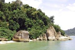 海岛laut马来西亚pangkor 免版税图库摄影