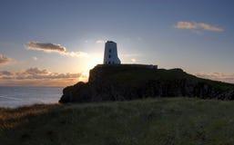 海岛llanddwyn 免版税库存图片