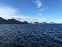 海岛lofoten 库存图片