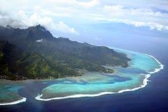 海岛moorea 免版税库存照片