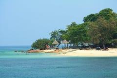 海岛mun nok泰国 免版税库存照片