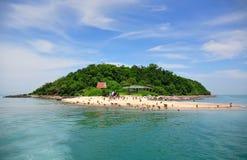 海岛pattaya泰国 免版税库存照片