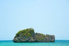 海岛s海运小的泰国 图库摄影