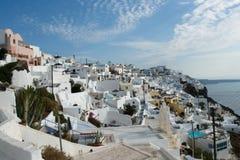 海岛Santorini 免版税库存照片