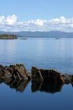 海岛seil 库存图片