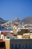 海岛syros 免版税库存图片