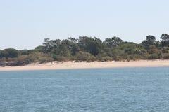 海岛Tavira葡萄牙 库存照片