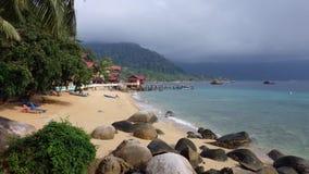 海岛tioman的马来西亚 免版税库存照片
