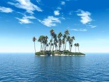 海岛trop 免版税图库摄影